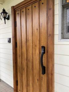T邸 玄関ドア取替