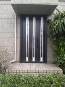 O邸 玄関ドア取替